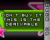 [V4NY] Derivable Suse