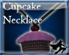 Darkling Cupcake Necklac