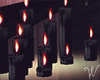 Gothic Pinup Candles