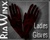 Crimson Gloves NO FUR