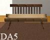 (A) Wood Sofa