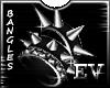 EV L Studs & Spikes Cuff