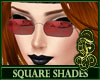 Square Shades Red