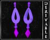 ~D~ LoL Morgana Earrings