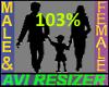 103% Tall