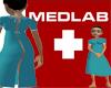 MED LAB Hospital Gown