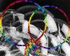 *!*Toxic Rainbow Hoops