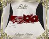 Belt flower red