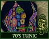 70's Tunic Blue