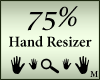 Hands Resizer