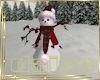 Christmas Tartan Snowman