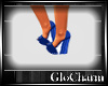 Glo* SummerWedge~Blue