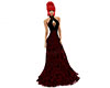 Lacegown black red vampi