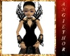 !ABT Black Vamp Gown