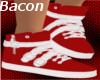 Ladie's Red Sneakers
