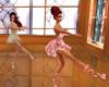 Group ballet dance