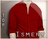 [Is] Simple Shirt Red