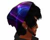 Neon Beanie Black Hair