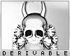 0 | Skull Headdress M v4