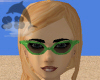 L Green V Cat Eye Shades