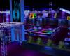 Club Disco Neon Blue