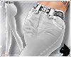 !High Waist jeans White