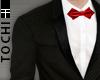 #T Regal Suit #Black-Red