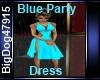 [BD] Blue Party Dress