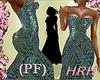 HRH PF Emerald Checkers