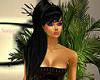 Black ponytail