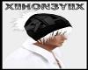 {SR} hoody black+hair