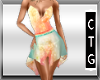 CTG SUMMER SUNSET DRESS