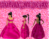 [FCS] Hot Pink Silk Lace