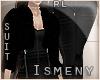 [Is] Glam Fur Black Suit