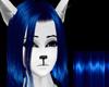 BlinD deep blue hair
