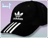F|Adidas Cap ❤ Black