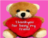 Thank You Teddy Bear Pic
