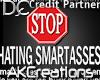 (AK)Smartass sticker