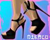 [N] DANCE Black Heels