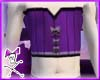 Purple Short Corset