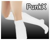 PX Knee Socks White