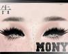 Eyebrows Black Goth