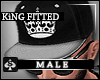 AS- Fittted hat KiNG