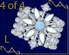 VA Snowflake Bracelet L