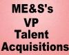 ME&S's Vp Talent Acq