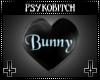 PB Spin heart bunny