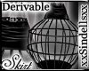 *Derivable* Caged Skirt