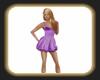 Caz violet dress
