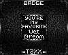 !TX - Wet Dream Badge