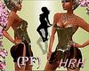 HRH PF Brass Sequin Mini